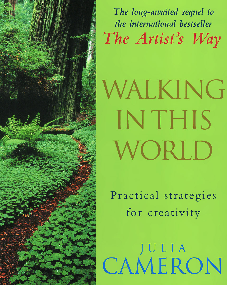 Walking in This World the artist s way creativity cards