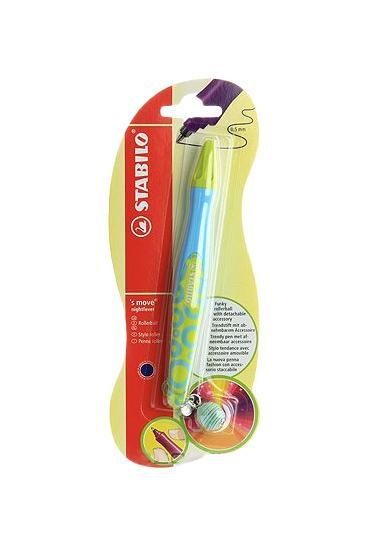 Ручка роллер Stabilo S`Move, цвет корпуса: голубой/зеленыйВ-37646