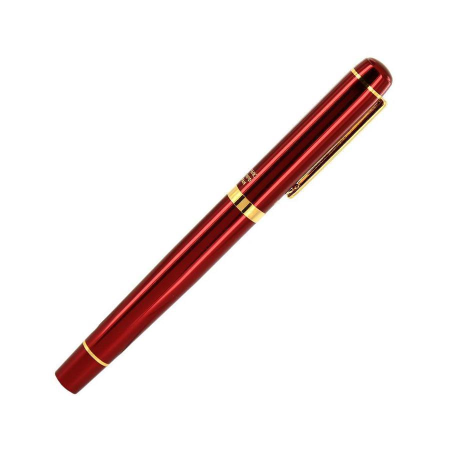 Ручка-роллер Proud, цвет: красныйCB-10PDВ подарок к каждой ручке прилагается стильный деревянный футляр из древесины розового дерева треугольной формы.