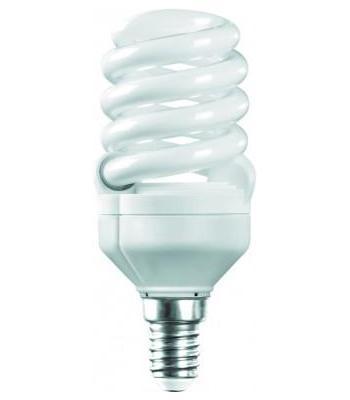 Camelion LH20-FS-T2-M/827/E14 энергосберегающая лампа, 20ВтLH20-FS-T2-M/827/E14Энергосберегающая лампа 20Вт Camelion LH20-FS-T2-M/827/E14, 10597 компактна по размеру, но по своей мощности (20 Вт) эквивалентна мощности обычной лампы в 100 Вт.Дает ровный яркий свет и не мерцает при включении. Такую лампу можно использовать в осветительных приборах, чей цоколь имеет размер Е14.Плавный пуск защищает элементы лампы от разрушения и продлевает срок эксплуатации. Высокий индекс цветопередачи (Ra 80) позволяет видеть натуральные цвета всех освещаемых предметов.