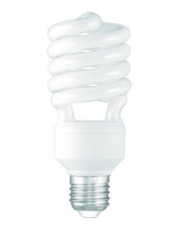 Camelion LH30-AS-M/827/E27 энергосберегающая лампа, 30ВтLH30-AS-M/827/E27Энергосберегающая лампа 30Вт CamelionLH30-AS-M/827/E27, 7982 сэкономит до 80% электроэнергии по сравнению с обычной лампой накаливания. Имеет форму спирали, по которой равномерно распределяется световой поток. Подойдет для освещения больших по площади жилых и нежилых помещений (цокольные этажи, конференц-залы, склады, холлы, лаборатории). Благодаря высокому индексу цветопередачи все освещаемые предметы имеют натуральный цвет. Свет, который дает лампа, не напрягает глаза и не несет в себе вредных излучений.