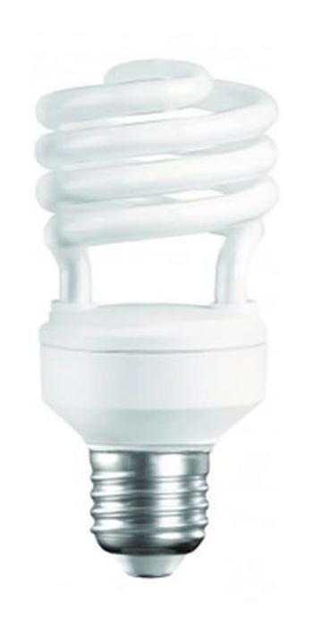 Camelion CF20-AS-T2/842/E27 энергосберегающая лампа, 20ВтCF20-AS-T2/842/E27Энергосберегающая лампа 20Вт Camelion CF20-AS-T2/842/E27, 10617 имеет стандартный размер цоколя и подойдет ко всем осветительным приборам, где используются обычные лампы накаливания. Подойдет для освещения офисных, жилых помещений, подвалов и цокольных этажей. Сохраняет работоспособность в интервале от -250 С до +400 С, включается мгновенно и не мерцает.