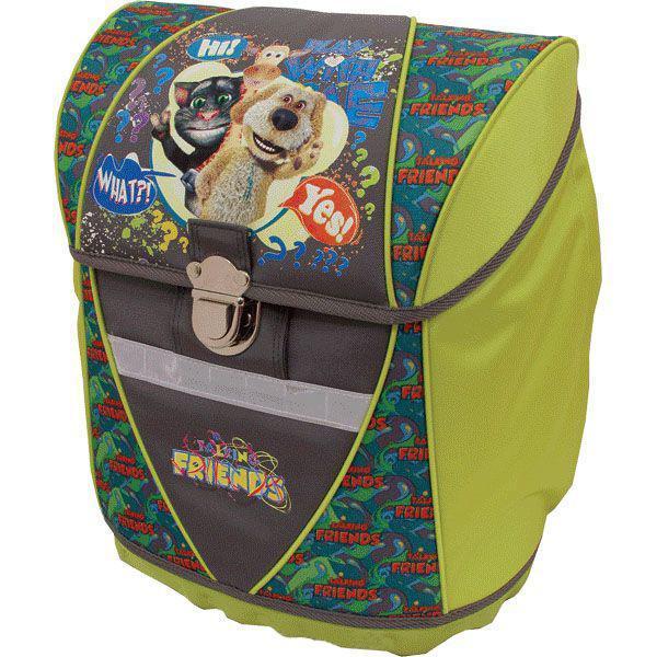 Рюкзак детский Proff жесткий . Говорящий Том 38*29*21 см с 1 отделением на замке,20-9191