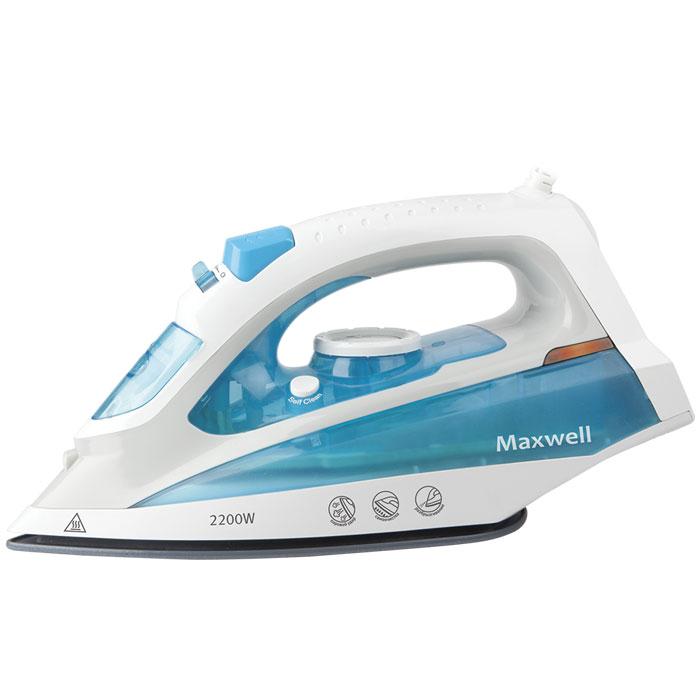 Maxwell MW-3055(В) утюгMW-3055(В)Maxwell MW-3055(В) - качественный и недорогой утюг. Высокая мощность (2200 Вт) обеспечивает скорость нагреваподошвы до заданной температуры за считанные секунды, тем самым повышая эффективность глажения иэкономя ваше время. Подошва из нержавеющей стали прочна и долговечна, а также обеспечивает превосходноескольжение на любом типе ткани, тем самым гарантируя высокое качество глажения. Как известно, паровой ударнеобходим, если требуется разгладить сложные складки на одежде, заломы на ткани, или пересушенное белье. Онпозволит легко справиться с любыми видами отделки на одежде, будь то складки, оборки, нашивки. Также выможете использовать утюг для вертикального отпаривания необходимых вам видов ткани и одежды, установиввысокотемпературный режим парообразования. Функция самоочистки помогает произвести очистку в домашнихусловиях, и тем самым продлить срок службы утюга и содержать его пригодном для работы состоянии.Вместительный резервуар для воды 200 мл позволит вам гладить вещи продолжительное время бездополнительного долива воды.