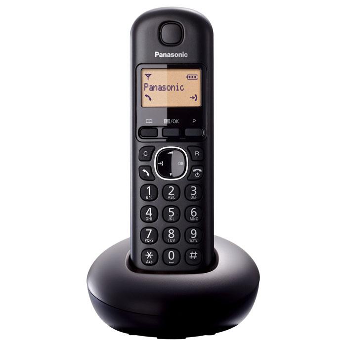 Zakazat.ru Panasonic KX-TGB210RUB, Black DECT-телефон