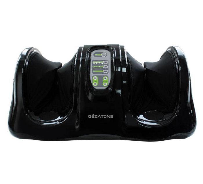 Gezatone Массажер блаженство для ног Massage magic AMG7111301136Массажер для профессионального воздействия на стопы и голени сочетает в себе техники восстанавливающего массажа Шиацу с интенсивным роликовым массажем. Быстро снимает усталость, улучшает самочувствие. Благодаря массажу Шиацу снимается напряжение в мышцах и суставах, восстанавливается нормальное кровоснабжение, стимулируется вывод застоявшейся жидкости.Воздействие роликами на активные точки стопы производит эффект рефлексотерапии, открывает энергетические каналы, способствует восстановлению общей работоспособности и снимает дискомфорт и усталость ног.Особенности:Прибор обеспечивает одновременный массаж активных точек на обеих ступнях, что дает в 3-5 раз более выраженный эффект, чем массаж каждой стопы по отдельности.Массажер ориентирован на индивидуальное использование: он буквально подстраивается под особенности строения стопы каждого человека.Вы получаете отличный профессиональный массаж и рефлексотерапию, как у лучших восточных специалистов, при этом не выходя из дома!Массажер для ног AMG711 можно установить дома или в офисе и в любое время получать релаксирующий массаж.Аппарат может быть использован, как часть восстановительной терапии при мигренях, спазмах в области плеч и шеи, хронической усталости, скачках давления, нарушениях менструального цикла (в случае тяжелых или хронических заболеваний необходима консультация врача!)В приборе установлены 4 автоматические программы массажа, среди которых всегда можно выбрать ту, которая подойдет именно Вам!Функция регулировки скорости вращения роликов добавляет комфорта процедурам массажа стоп.Прибор работает от сетевого адаптера, имеет стильный дизайн.Всего за 30-минутную процедуру массажа можно снять сильное напряжение и усталость, восстановить иммунитет и защитные функции организма, улучшить деятельность всех органов и структур!Доступная цена на массажер для ног Gezatone позволяет значительно сэкономить на походах в спа-салоны!Нельзя использовать массажер