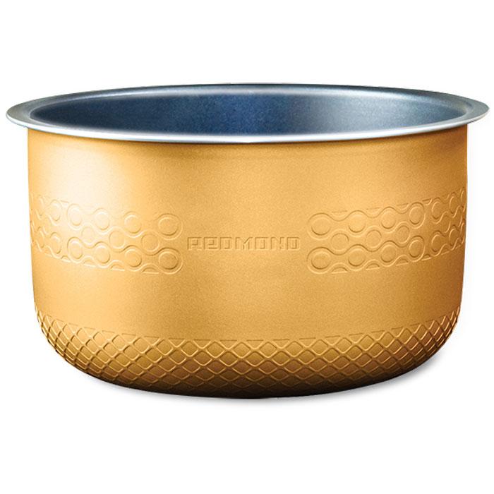 Redmond RB-A503 чаша для мультиваркиRB-A503Redmond RB-A503 - 5-литровая чаша с высококачественным антипригарным покрытием от компании DAIKIN(Япония) отлично подойдет для жарки, выпечки, варки молочных каш. Можно использовать чашу вне мультиварки вкачестве посуды для хранения продуктов в холодильнике или для приготовления блюд в духовом шкафу.