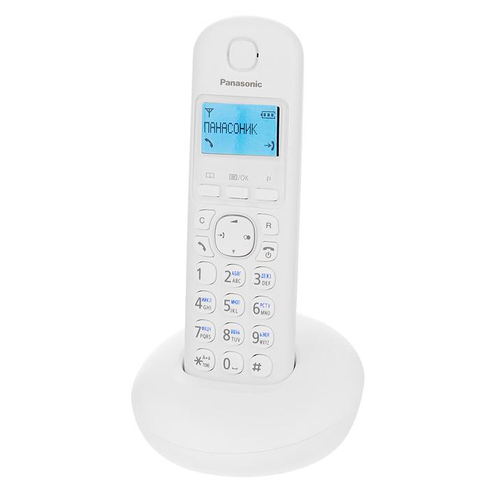 Zakazat.ru Panasonic KX-TGB210RUW, White DECT-телефон