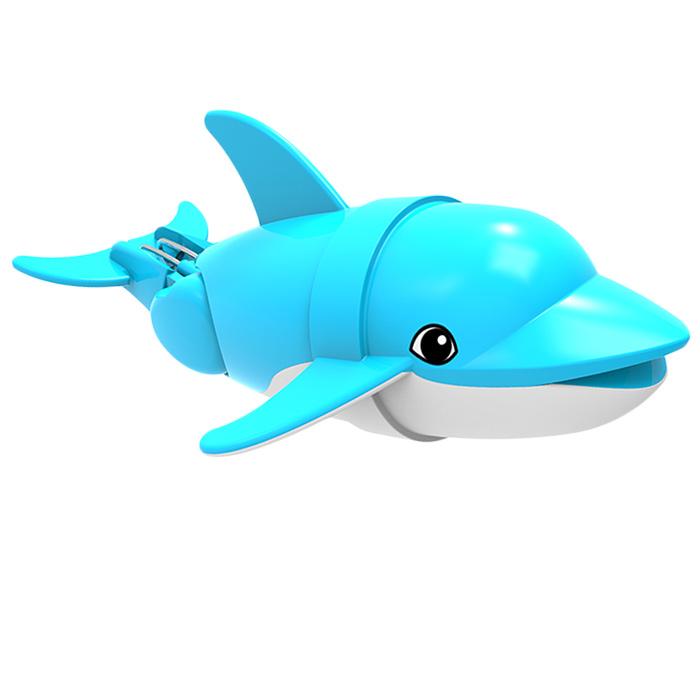 Игрушка для ванны Renwood  Рыбка-акробат Диппер , цвет: голубой, белый - Интерактивные игрушки