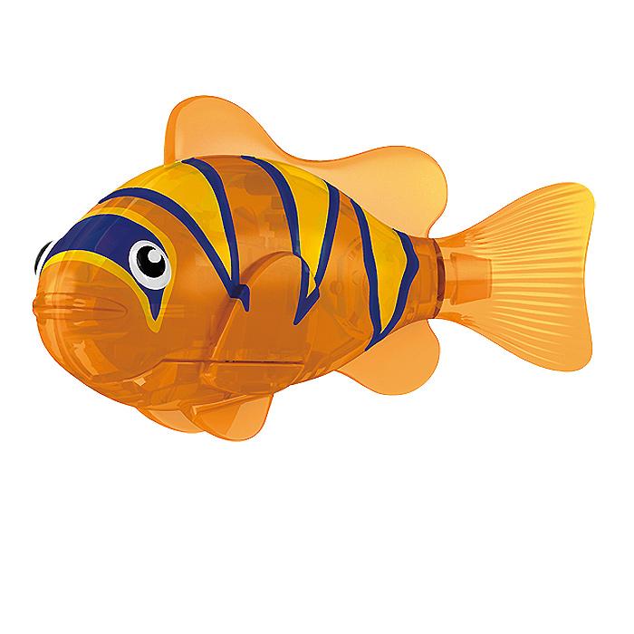 Игрушка для ванны Robofish Тропическая РобоРыбка: Бычок, цвет: оранжевый