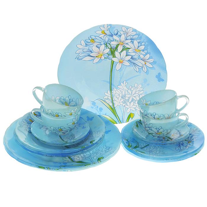 """Набор посуды """"Кливия"""", 20 предметов, Porcelain Industry"""