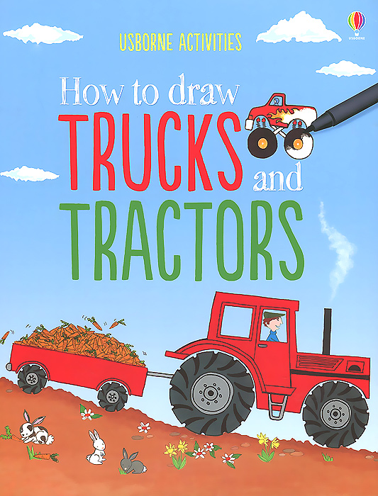 How to Draw Trucks and Tractors how to draw fairies and mermaids