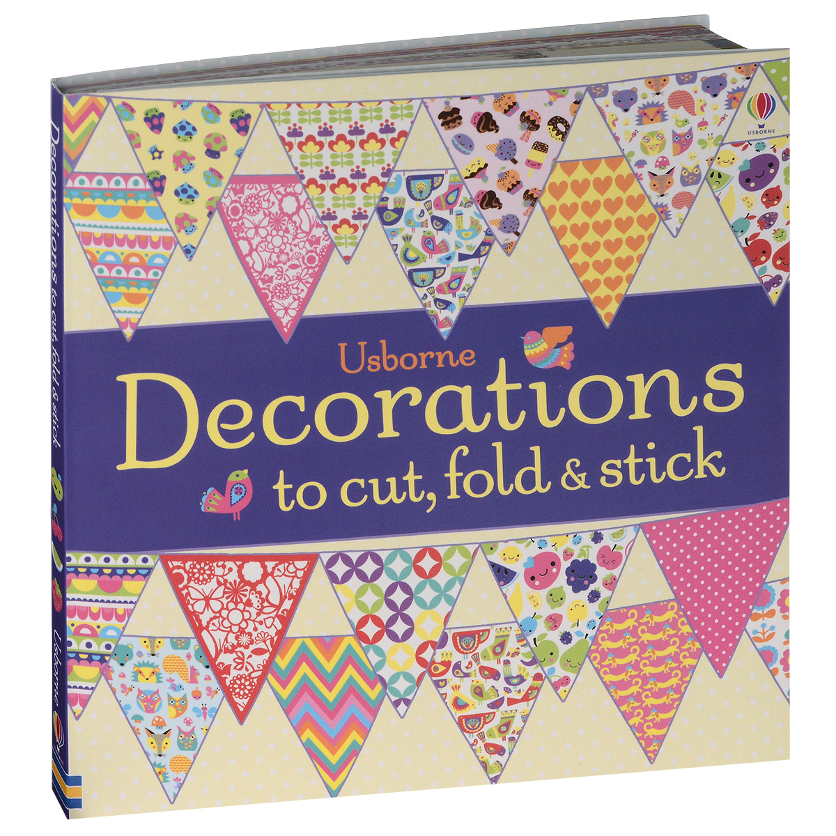 Decorations to Cut, Fold and Stick irresistible