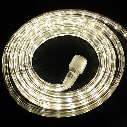 Светодиодная лента Luck&Light, 5 метров, цвет: теплый белый arlight лента 5 метров rtw 2 5000p 12v white6000 3528 300 led lux