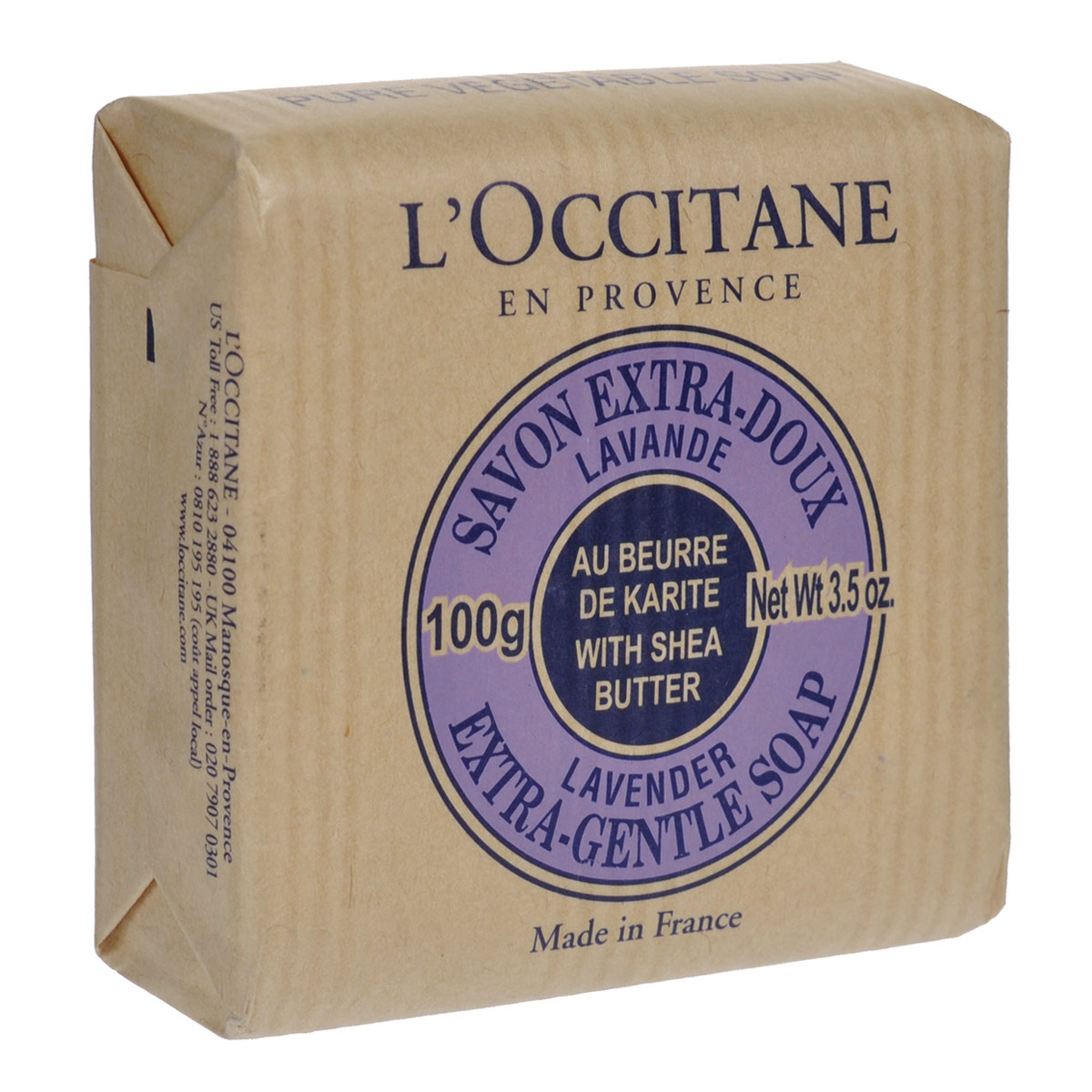 "L'occitane Мыло ""Лаванда"", 100 г"