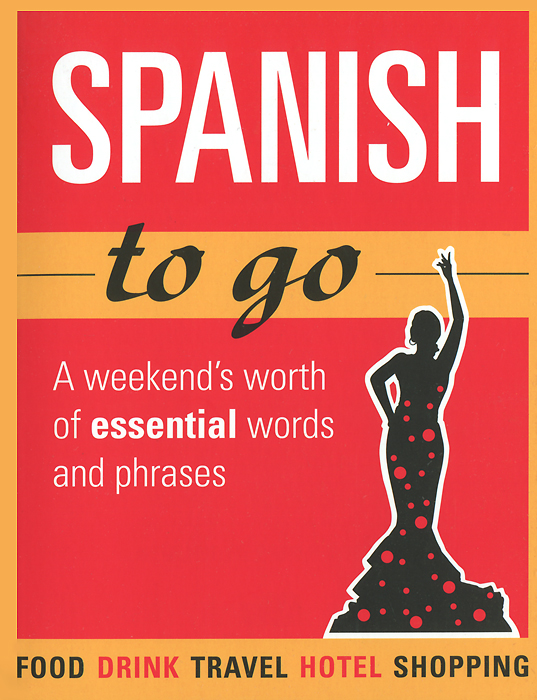 Spanish to Go: A Weekend's Worth of Essential Words and Phrases свитшот print bar go to valhalla with ragnar