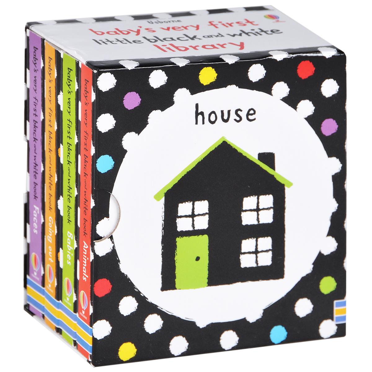 Baby's Very First Black & White Little Library (комплект из 4 миниатюрных изданий) holbein colour library