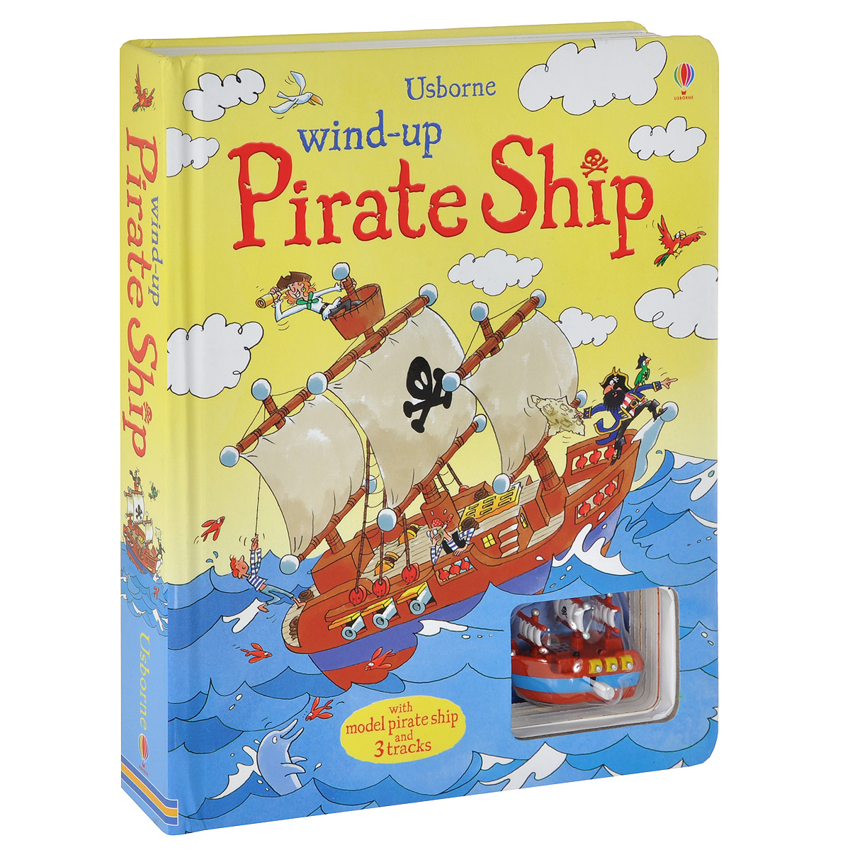 Wind-up Pirate Ship. Книжка игрушка pirate jack looks for treasure