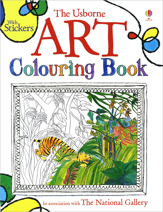 Art Colouring Book dickins r the children s book of art