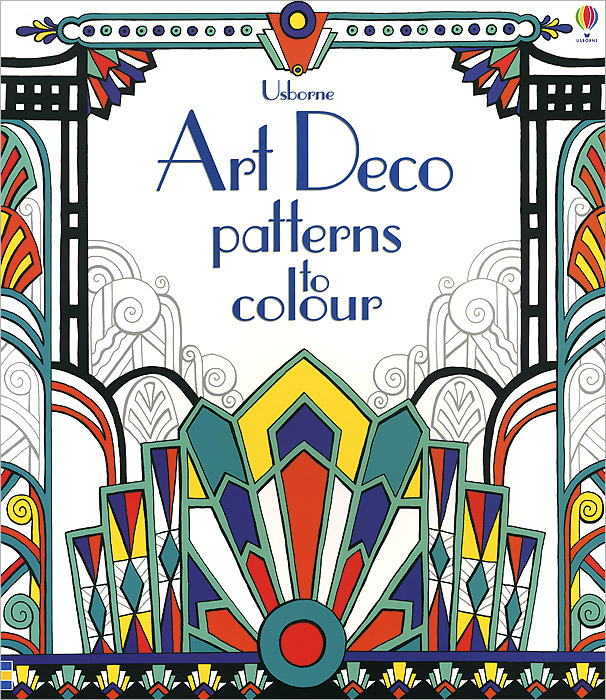 Art Deco Patterns to Colour victoria charles art deco