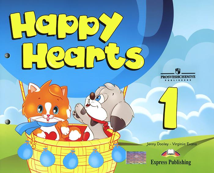 Jenny Dooley, Virginia Evans Happy Hearts 1: Pupil's Book jenny dooley virginia evans fun with english 6 pupil s book
