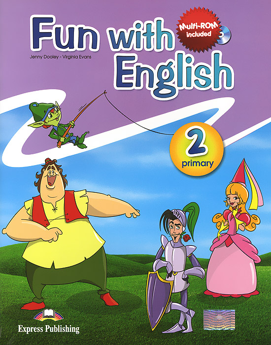 Jenny Dooley, Virginia Evans Fun with English 2: Pupil's Book english with crosswords 3 dvdrom