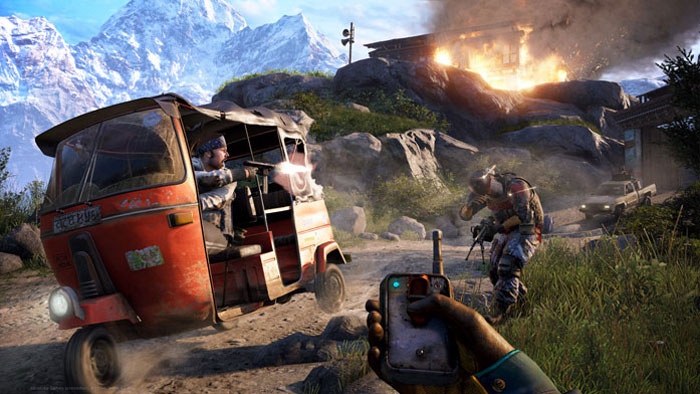 Far Cry 4.  Essentials (PS3) Ubisoft Montreal