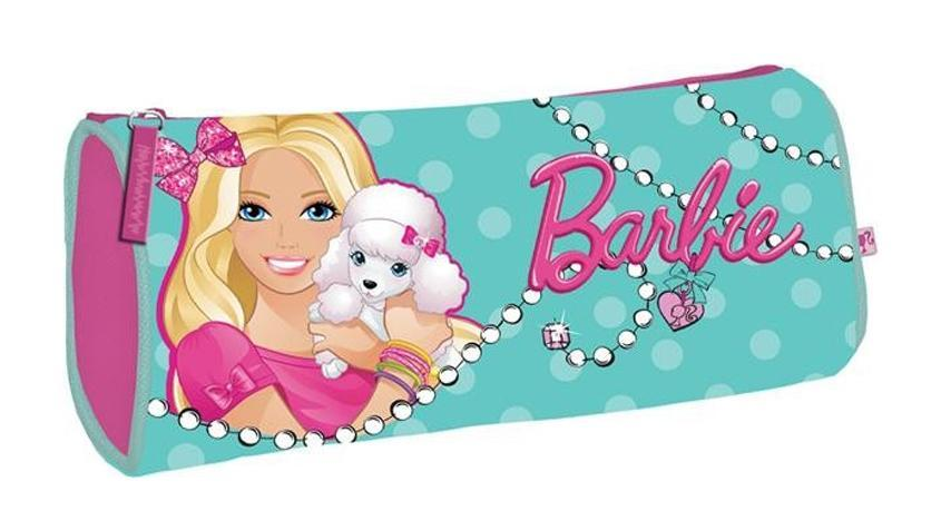 Пенал, размер 21 х 9 х 5 см,BarbieBRAP-MT1-430Пенал. Размер 21 х 9 х 5 см,Barbie Цвет: голубой.Тип: Мягкий пенал.Пол: Для девочек .Возраст: Младшие классы .Форма: Овал.Материал: Полиэстер, .Размер: 210х90х50 мм.