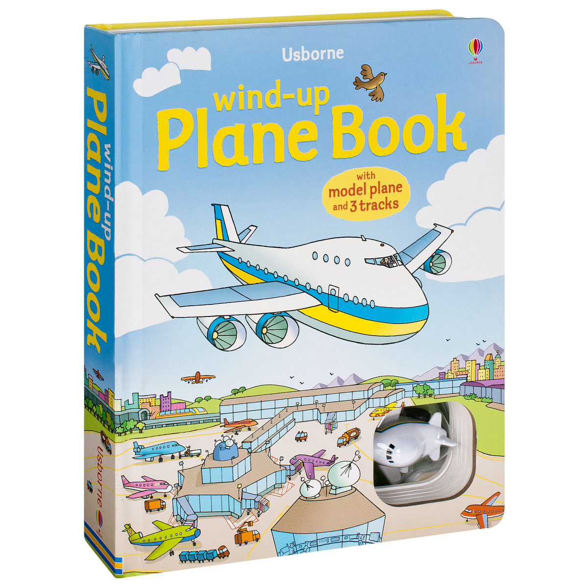 Wind-up Plane Book (+ игрушка)