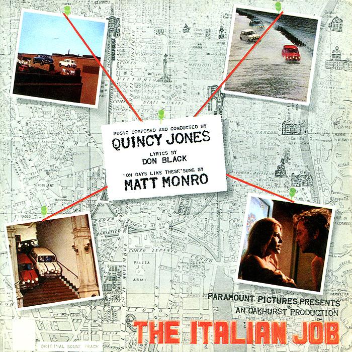 Quincy Jones. The Italian Job quincy jones quincy jones italian job