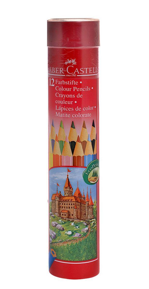 Цветные карандаши COLOUR PENCILS, набор цветов, в тубе, 12 шт.FC115826 Цветные карандаши Faber-Castell откроют юным художникам новые горизонты для творчества, а также помогут отлично развить мелкую моторику рук, цветовое восприятие, фантазию и воображение. Традиционный шестигранный корпус изготовлен из качественной мягкой древесины для хорошего затачивания. Карандаши покрыты лаком на водной основе для защиты окружающей среды. Специальная SV технология вклеивания грифеля предотвращает его поломку при падении на пол. Корпус карандашей окрашен под цвет грифеля. Комплект включает 12 карандашей ярких насыщенных цветов. Карандаши уже заточены, поэтому все, что нужно для рисования - это взять чистый лист бумаги, и можно начинать! Вид карандаша: цветной. Материал: дерево.
