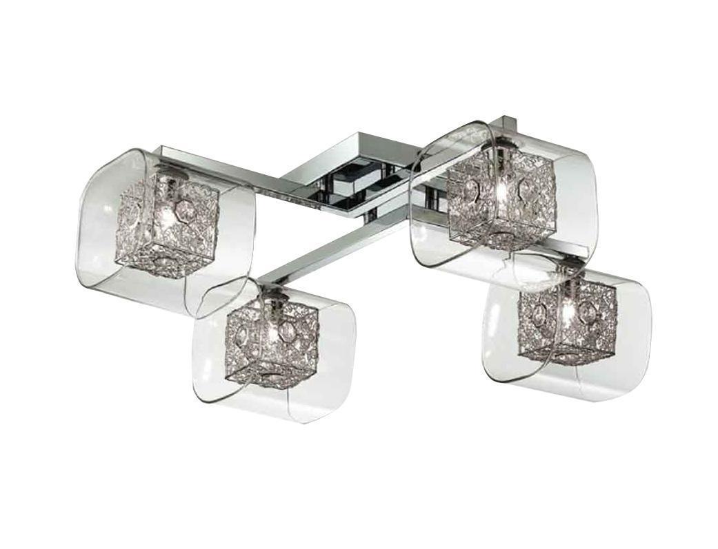 Потолочный светильник ST-LUCE SL602 102 04SL602 102 04От производителяПотолочный светильник ST-Luce отлично впишется в интерьер вашего дома. Он хорошо смотрится как в классическом, так и в современном помещении, на штукатурке, дереве или обоях любой расцветки.Для безопасной и надежной коммутации светильника в сеть на корпусе светильника установлена клеммная колодка. Светильник дает яркий ровный сфокусированный световой поток в выбранном направлении. Светильники и люстры - предметы, без которых мы не представляем себе комфортной жизни. Сегодня функции люстры не ограничиваются освещением помещения. Она также является центральной фигурой интерьера, подчеркивает общий стиль помещения, создает уют и дарит эстетическое удовольствие.
