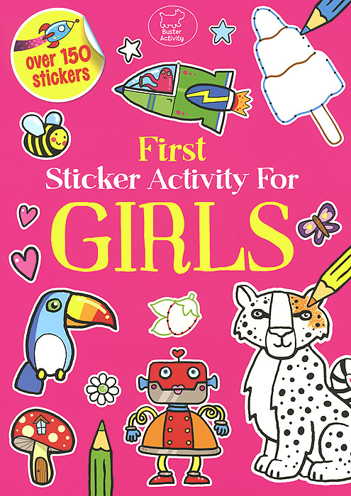 First Sticker Activity for Girls first sticker activity for boys