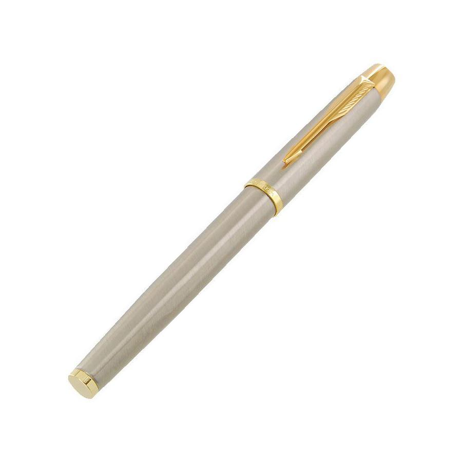 Ручка-роллер Parker IM Brushed Metal GTC24866 (PARKER-S0856400)