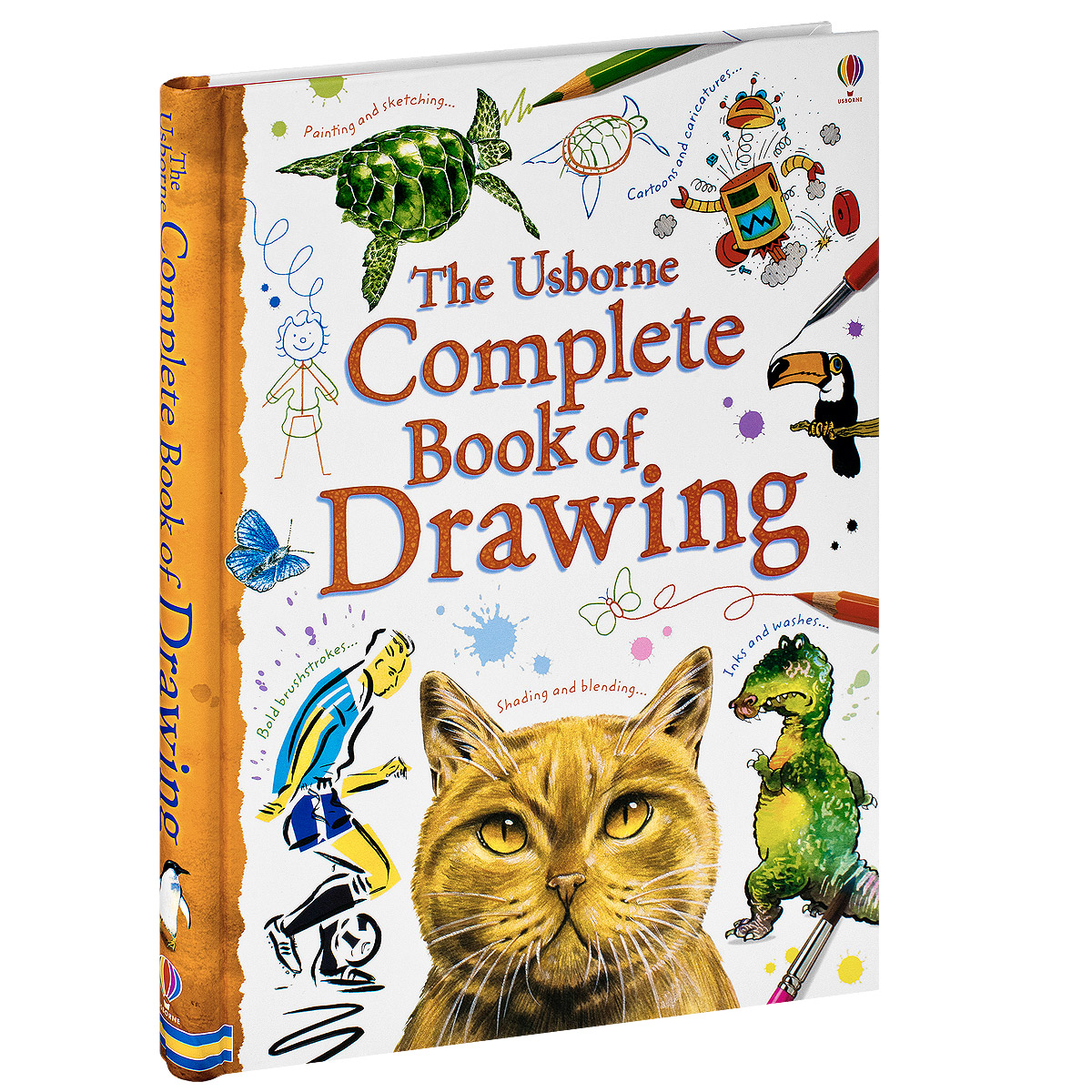 Купить The Usborne Complete Book of Drawing
