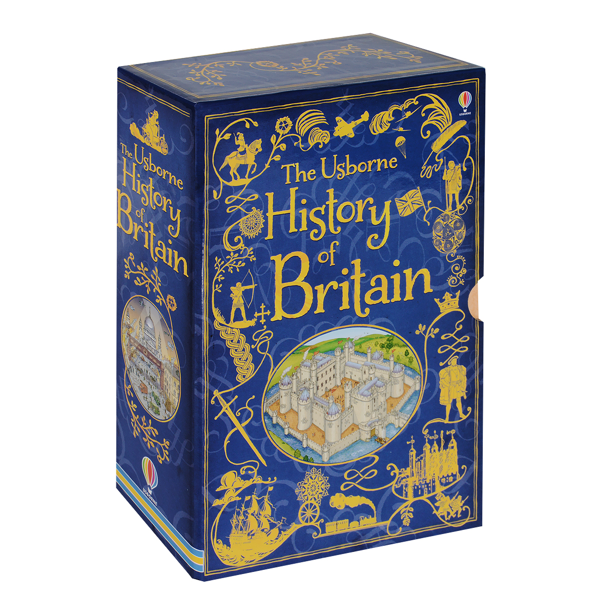 Usborne History of Britain (комплект из 10 книг) an illustrated history of britain