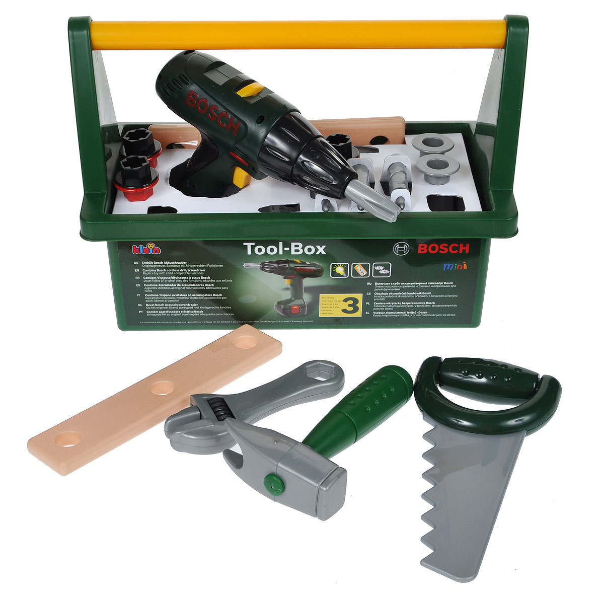 Набор инструментов Klein Bosch, в чемоданчике, 15 предметов