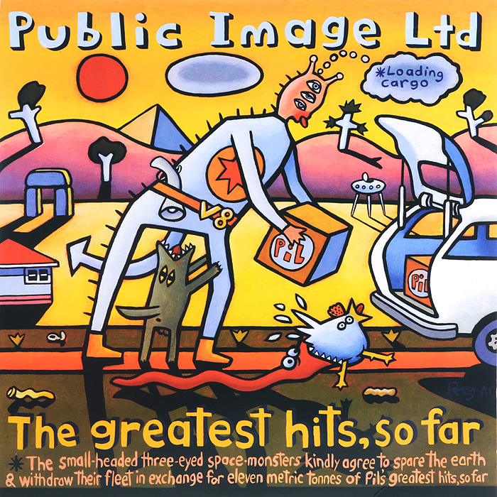 Public Image Limited. The Greatest Hits, So Far (2 LP)