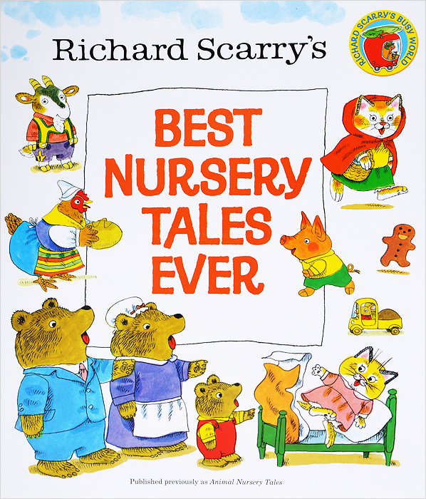 Richard Scarry's Best Nursery Tales Ever folk of the world paraguay