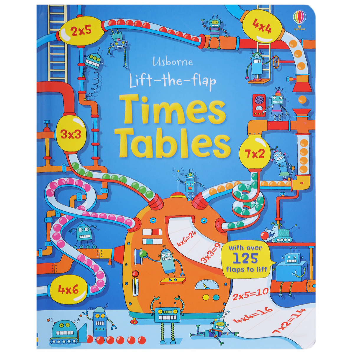 Lift-the-Flap Times Tables supermarket gremlins lift the flaps book