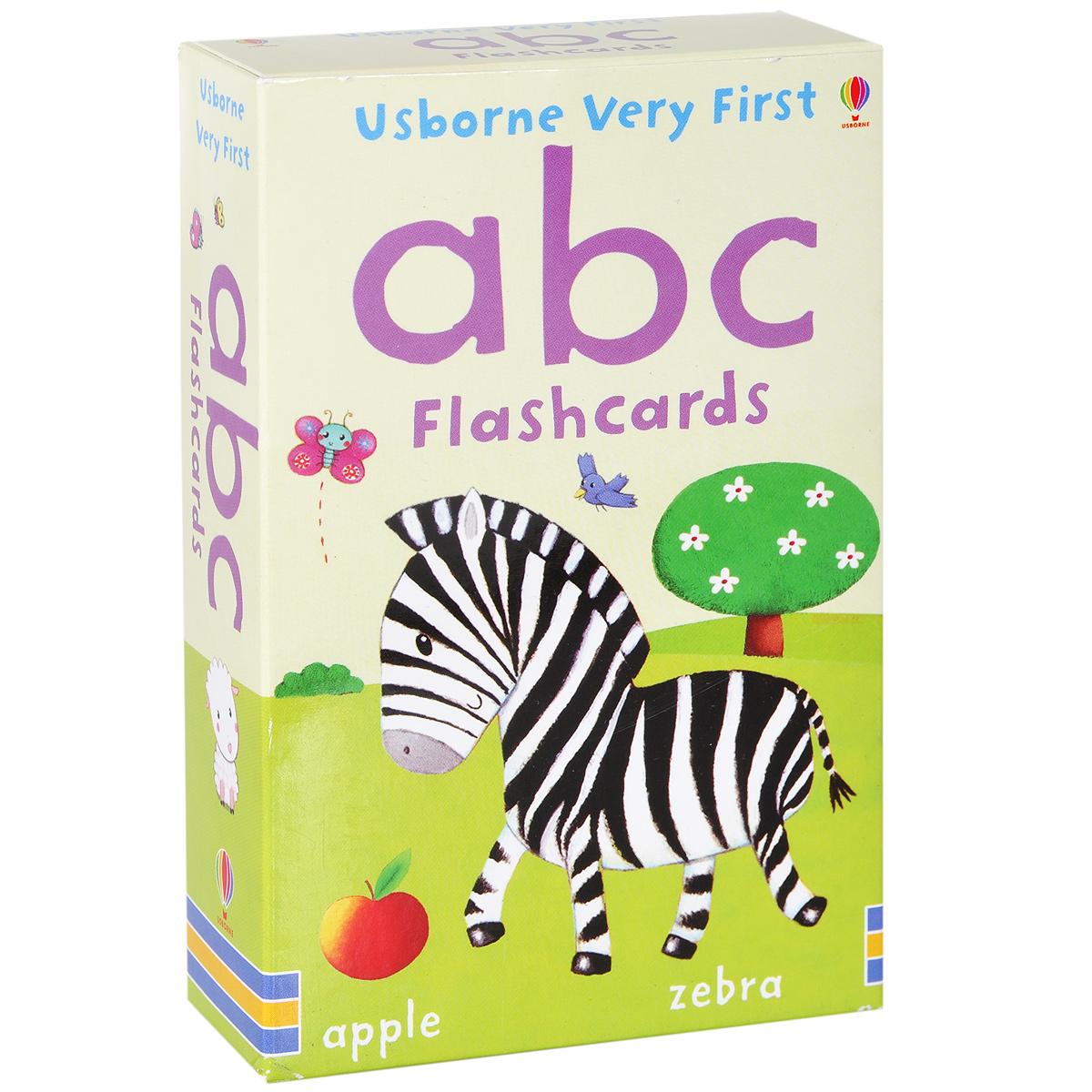 Usborne Very First ABC Flashcards (набор из 30 карточек) 123 flashcards