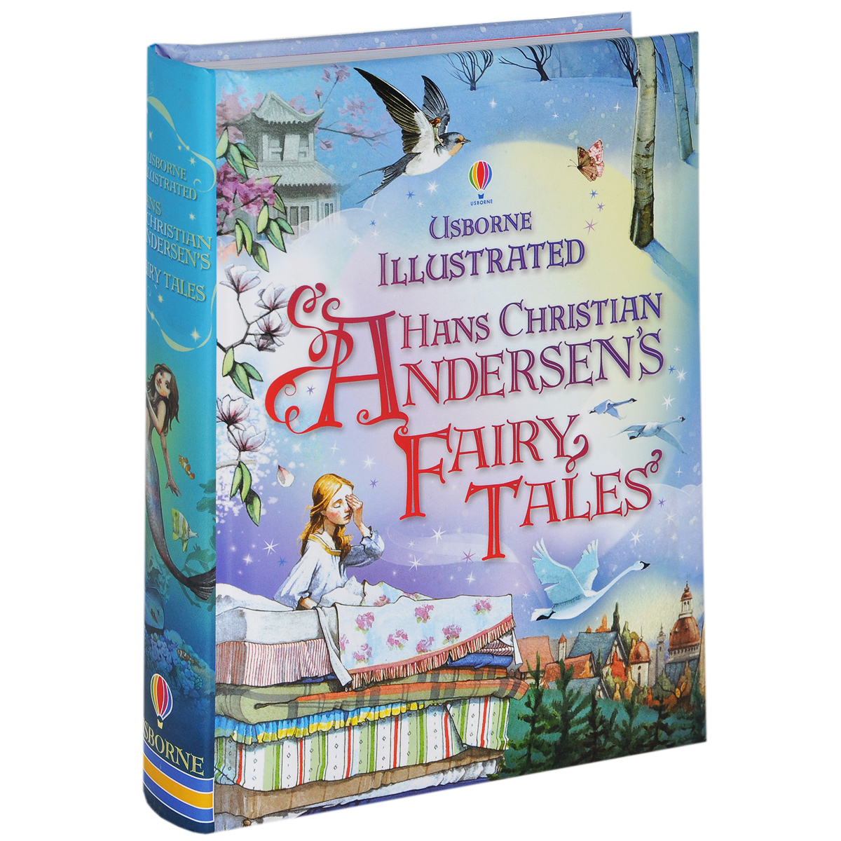 Illustrated Hans Christian Andersen's Fairy Tales snow tales