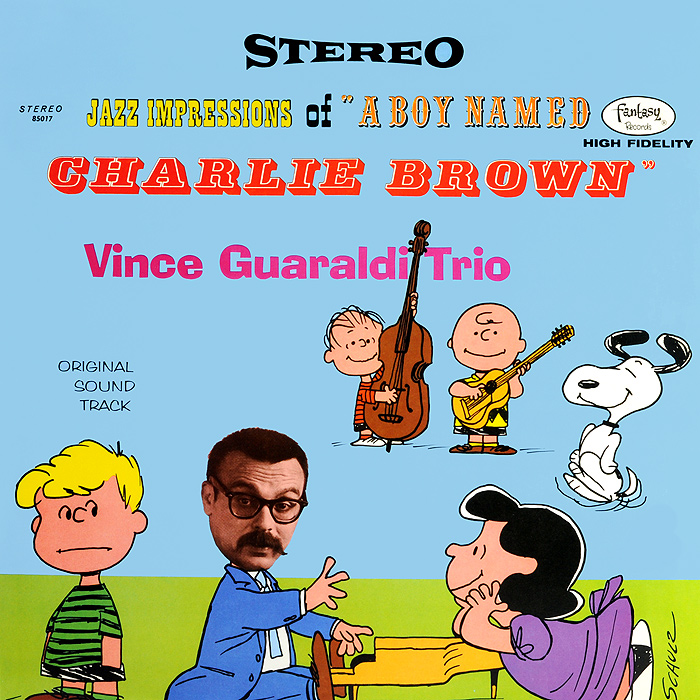 Vince Guaraldi Trio. Jazz Impressions Of Charlie Brown. Limited Edition (LP)