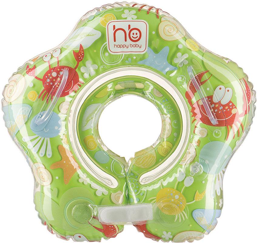 Детский надувной круг Happy Baby Swimmer, на шею круг надувной swimtrainer classic от 3 месяцев до 4 лет цвет красный 10110