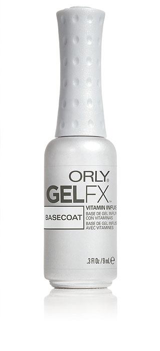 Orly Базовое покрытие под гель-лак Gel FX Basecoat, 9 мл гель лак для ногтей orly gel fx 496 цвет 496 hot tropics variant hex name ac2a8b