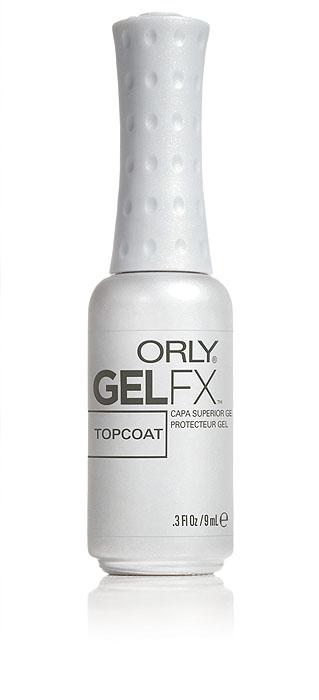 Orly Закрепитель для гель-лака Gel Fx Topcoat, 9 мл34210Закрепитель Gel FX Topcoat защищает Gel FX Nail Lacquer от сколов и придаёт ему яркий глянцевый блеск, который остается безупречным в течение 2-х недель.Способ применения: нанесите тонкий ровный слой и заполимеризуйте его.Обязательно перекройте торец свободного края ногтя для предупреждения отслаивания и скалывания.Все препараты, входящие в гель-маникюр Gel FX, действуют в комплексе и обеспечивают надлежащее качество нанесения и удаления покрытия.Замена их на аналогичные может привести к ухудшению характеристик покрытия гель-маникюра Gel FX.Товар сертифицирован.