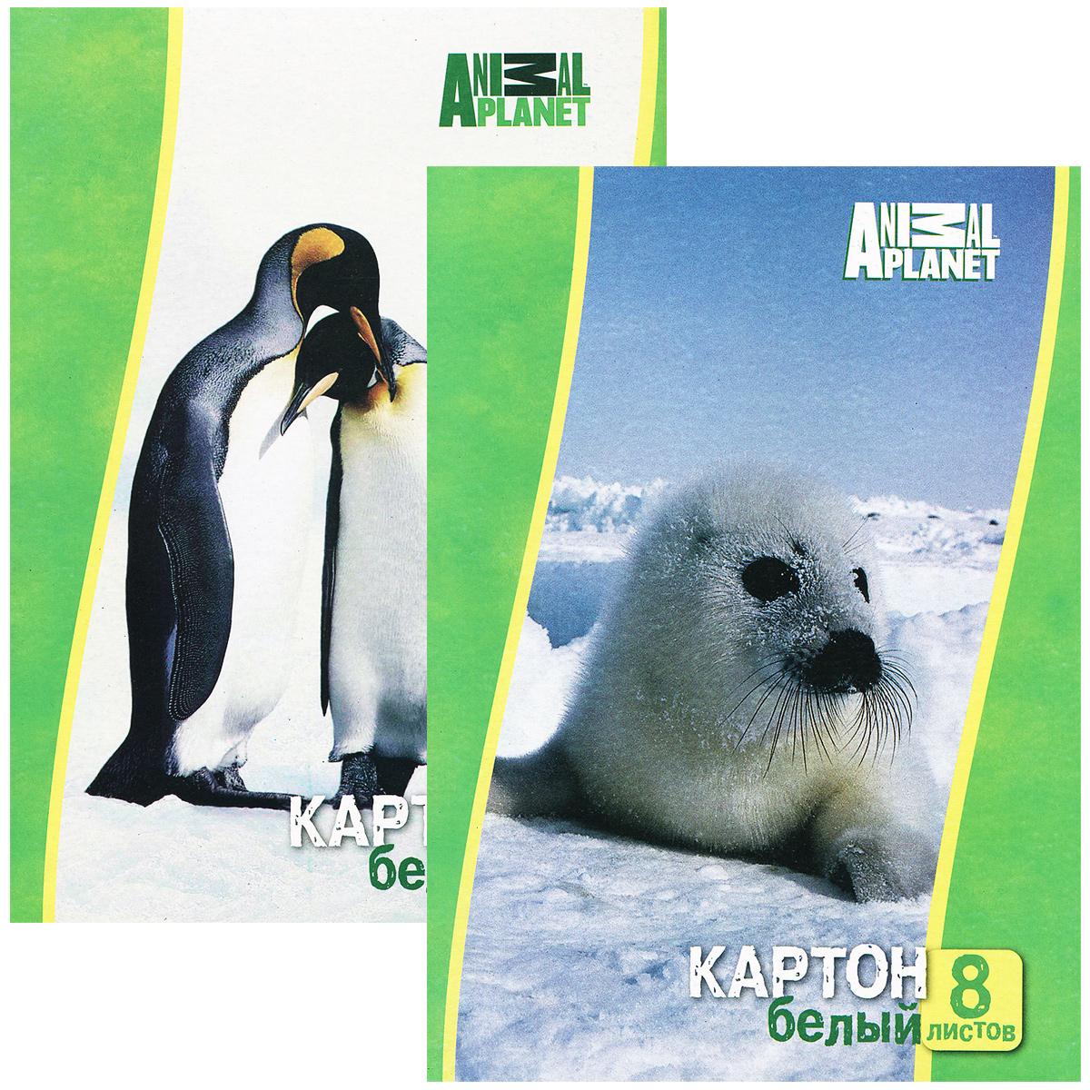 Набор белого мелованного картонаACTION!ANIMAL PLANET, ф. А4, 8 листов, 2 шт в упаковке, 2 дизайна, (ACTION!)AP-AWP-8/8Набор белого картона Action! Animal Planet позволит создавать всевозможные аппликации и поделки.Набор включает две упаковки одностороннего белого картона, в каждой 8 листов формата А4.Каждый из наборов упакован в картонную папку с изображением животного либо птиц.Создание поделок из цветного картона позволяет ребенку развивать творческие способности, кроме того, это увлекательный досуг.
