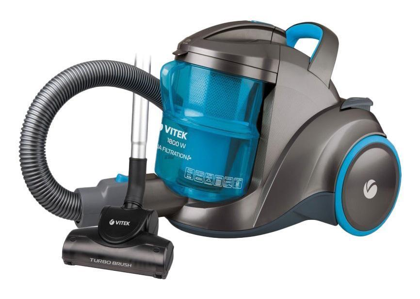 Vitek VT-1835(B) пылесос робот пылесос для сухой уборки lg vr6570lvmb