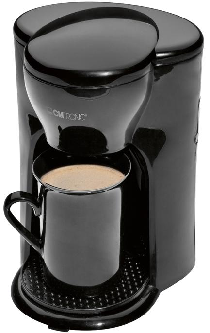 Clatronic KA 3356, Black кофеварка хлебопечь clatronic bba 3365