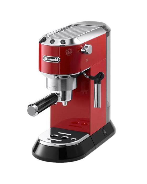 DeLonghi Dedica EC 680, Red рожковая кофеварка пальто краснодар купить